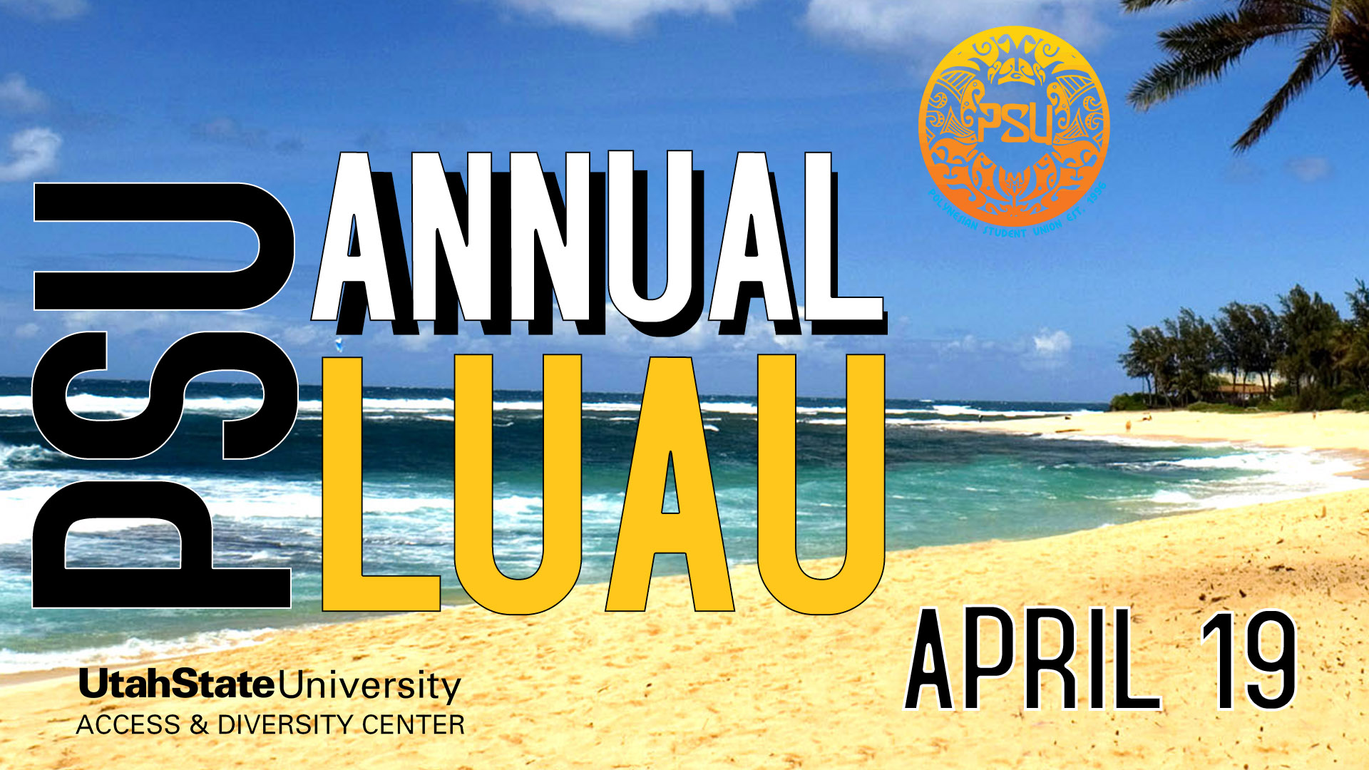 PSU annual luau April 19, 2017