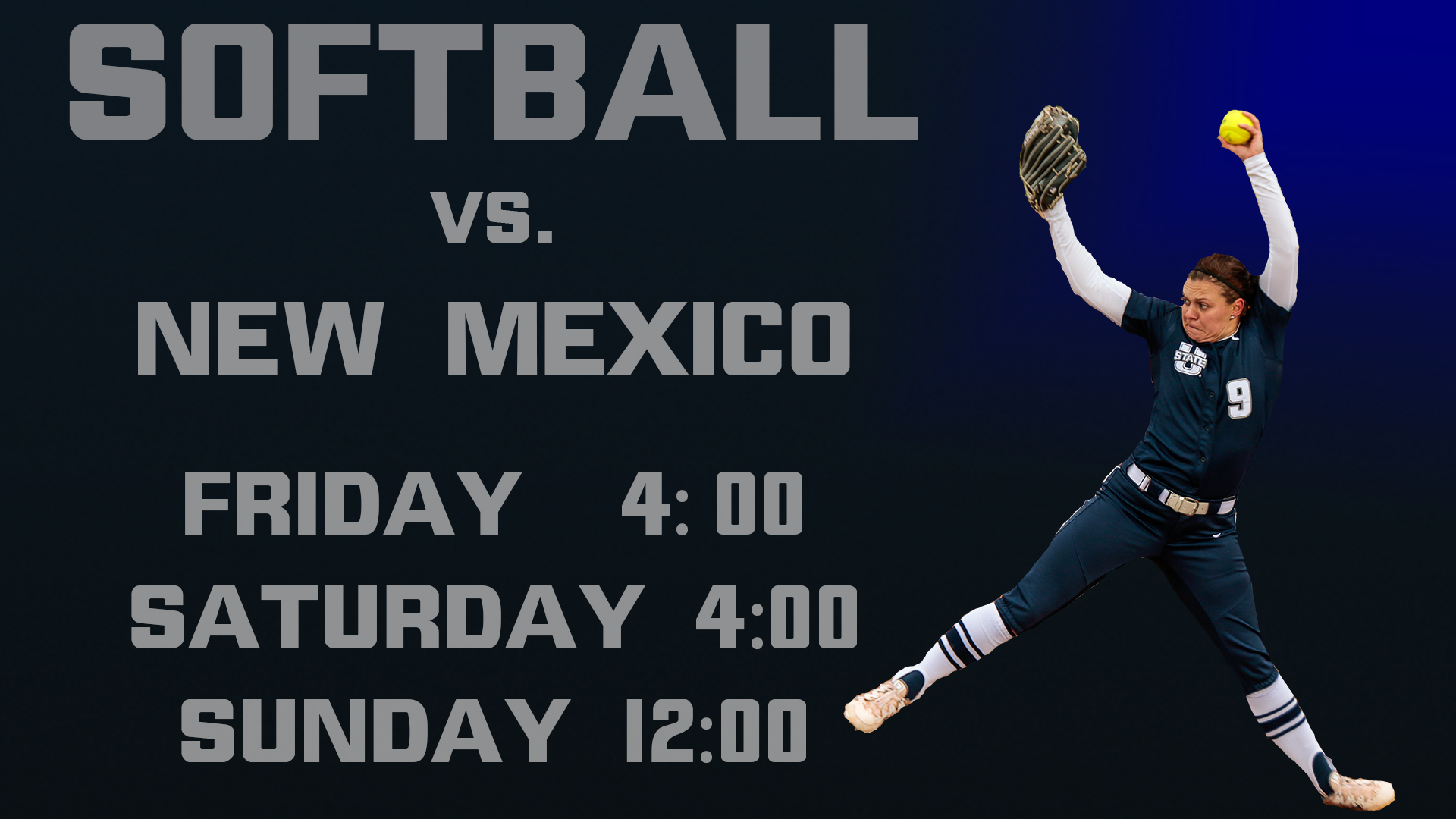 Women's Softball games