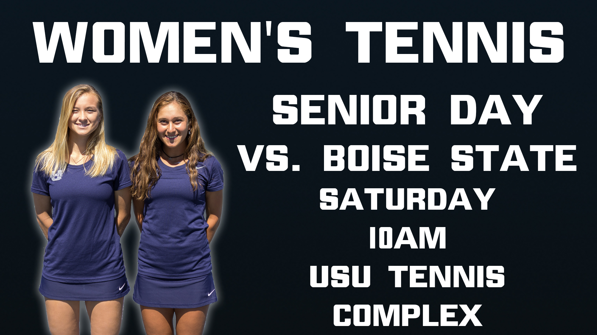 Women's Tennis game vs Boise