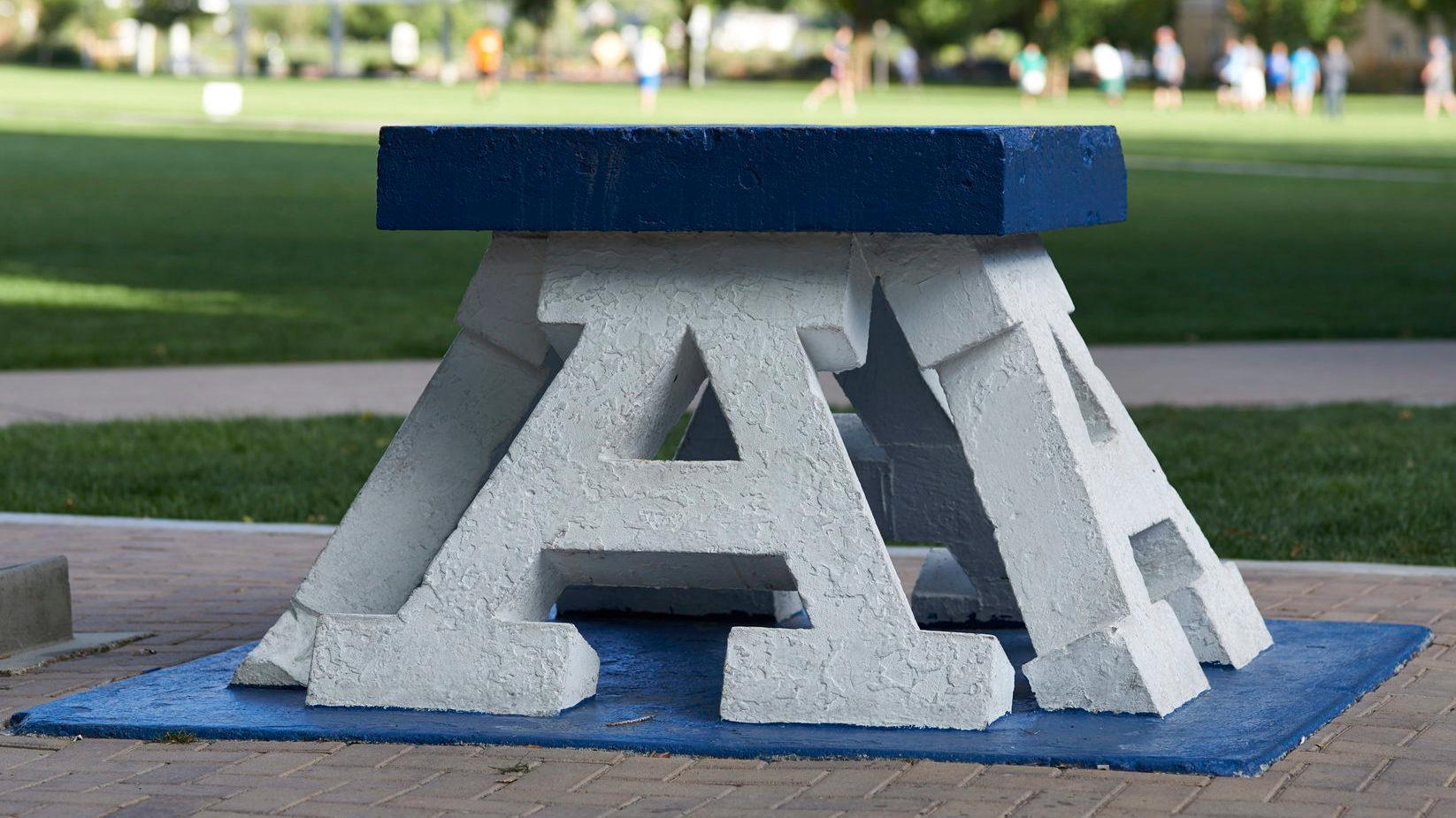 """Block """"A"""" near Old Main"""