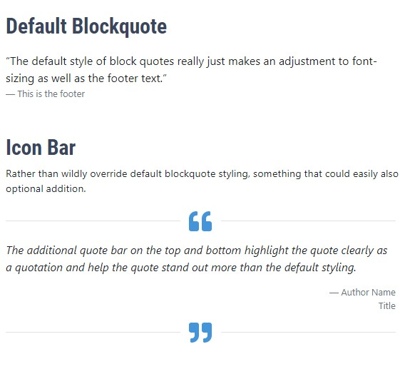 quote block screenshot